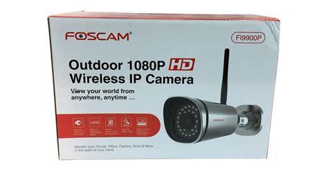 foscam ip review foscam fi9900p outdoor 1080p hd wireless ip bullet