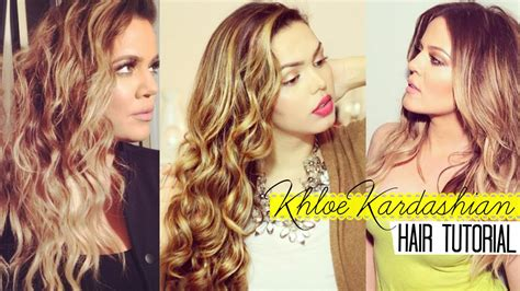 how to get khloe kardashian wedding hair khloe kardashian hair tutorial kiran khan youtube