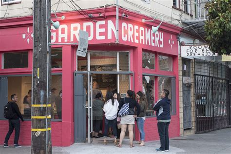 Garden Creamery by Pretty In Pistachio Sesame Mango And Ube At