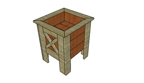 Square Planter Box Plans how to build an outdoor planter box howtospecialist