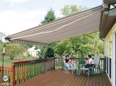 how to care for a retractable awning wendel home center
