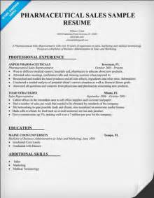 College Student Resume Sles by Pharmaceutical Sales Resume Sle Student Resume Template