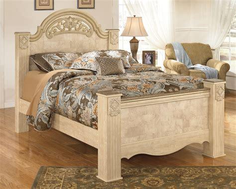 bedroom sets without bed saveaha poster bedroom set b346 67 64 98 ashley furniture