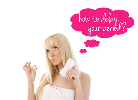 Can Detox Delay Menstruation by How To Delay Your Period For Poorly Timed Vacations And