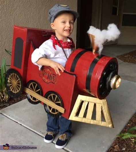 conductor  vintage train halloween costume contest