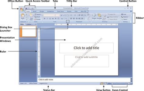 template pada power point adalah modul microsoft office powerpoint 2007 kkpi smk bhakti