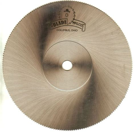 metal cutting blade for table saw semi high speed saw blades the blade mfg co