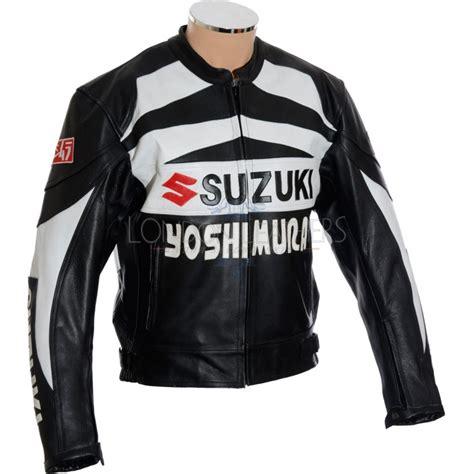 Suzuki Leather Jacket by Suzuki Hayabusa Yoshimura Biker Jacket