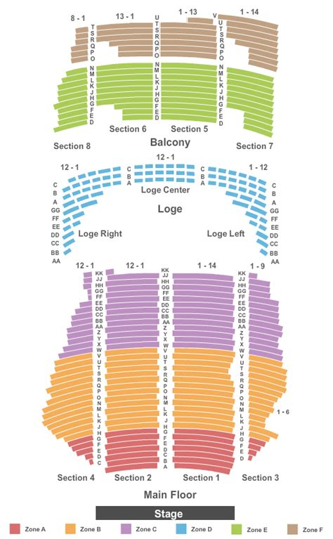 state theater mn seating chart sesame live tickets seating chart state theatre