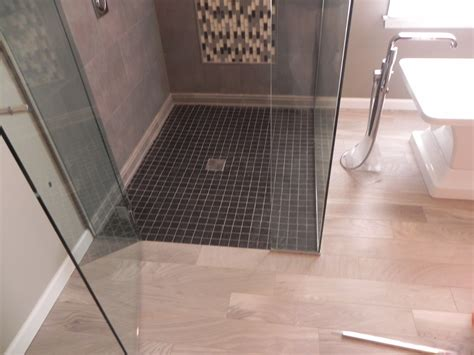 Shower In Bath Ideas curbless showers bathroom renovations