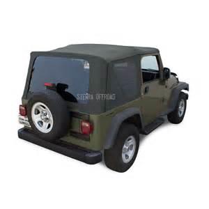 Jeep Soft Top Windows Jeep Wrangler Tj Soft Top 2003 2006 Tinted Windows