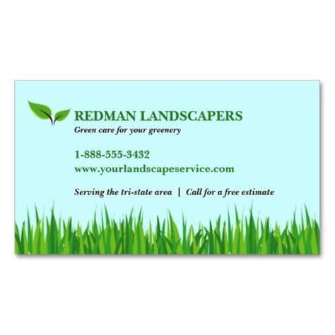 Landscape Design Business Card Templates by Grassy Landscape Business Card Landscaping Business