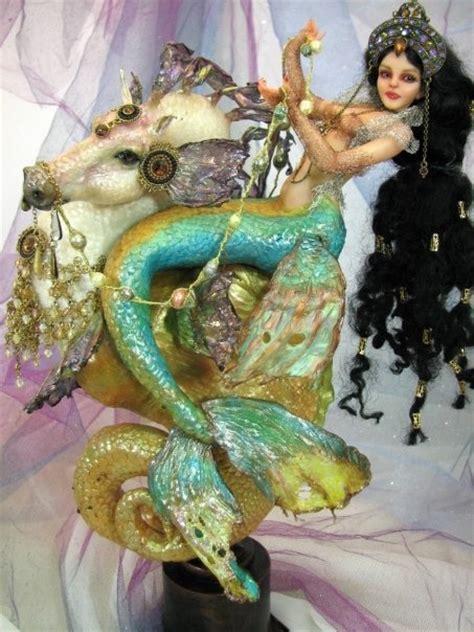 Handmade Mermaid - mermaids handmade doll source unknown tales