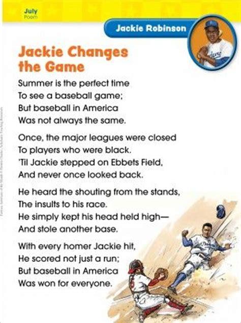Jackie Robinson An American Poem Jackie Robinson Poem Scholastic Search History Lesson Ideas Baseball