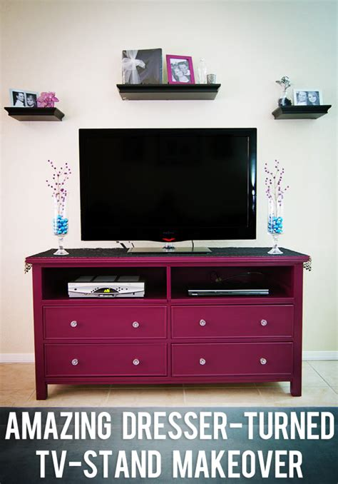 How To Turn Dresser Into Tv Stand by Diy Wednesday Vintage Dresser Turned Tv Stand