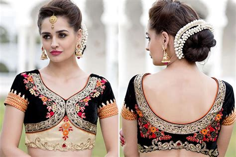 44 Types of Saree Blouse Designs And Patterns   Designer