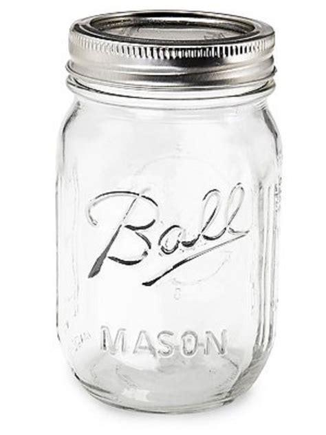 ball mason 16oz pint ball mason jar with regular mouth lid ebay