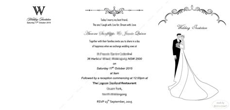 Free Wedding Invitation Templates Biziv Promotional Products