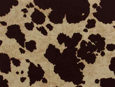 cow print upholstery fabric brown cow print fabric