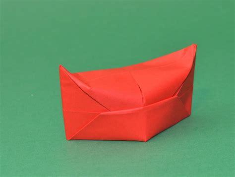 Origami Hut - papierhut falten hut basteln mit papier
