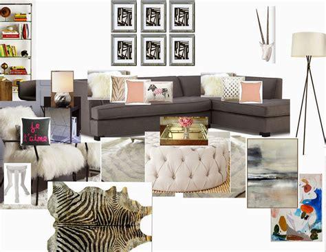 Mood Board Monday: Rachel's Parisian Safari ? Affordable Interior Design