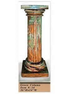interior decorative column no 14 green onyx
