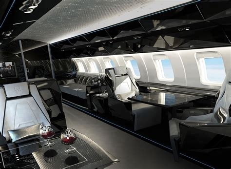 Jet Interiors flying house luxury jet interiors