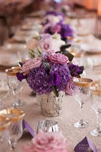 purple flower centerpieces for weddings best 25 purple wedding centerpieces ideas on