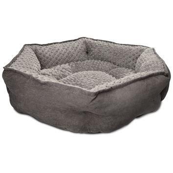 dog beds petco petco memory foam hexagonal dog bed from petco com
