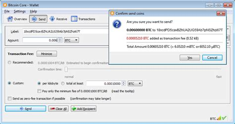 how to set up bitcoin core fast bitcoin transactions with smaller fees crypto