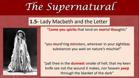 macbeth themes youtube macbeth revision the supernatural youtube