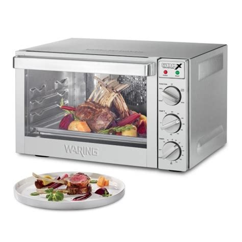 Commercial Toaster Oven Convection waring commercial convection oven stainless half size wco500x