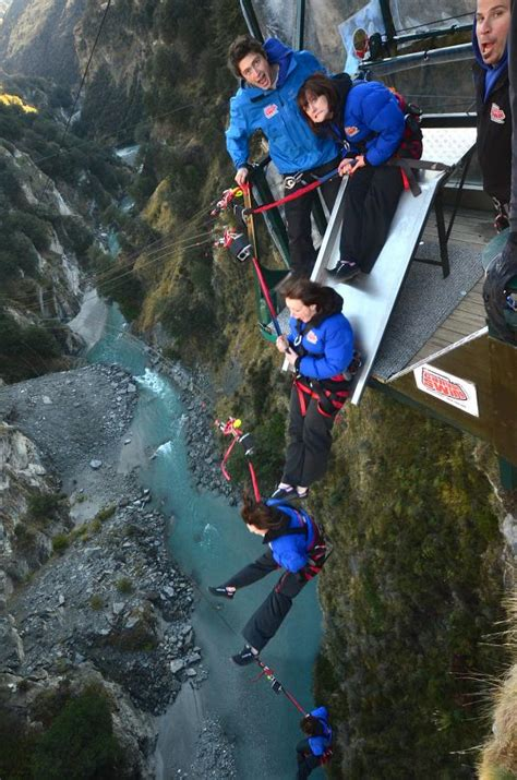 biggest swing new zealand the slide jump shotover canyon swing queenstown