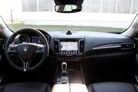 maserati levante dashboard ratings and review 2017 maserati levante ny daily