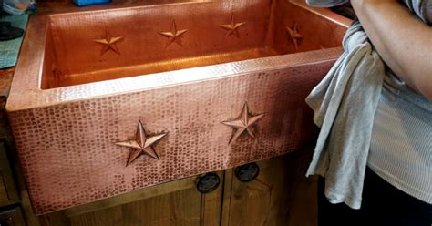 How To Clean Copper Sink by How To Care For And Clean A Copper Sink So It Ll Last Forever