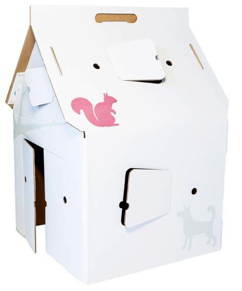 huis van karton bouwpakket huis en keuken van karton hobby blogo nl