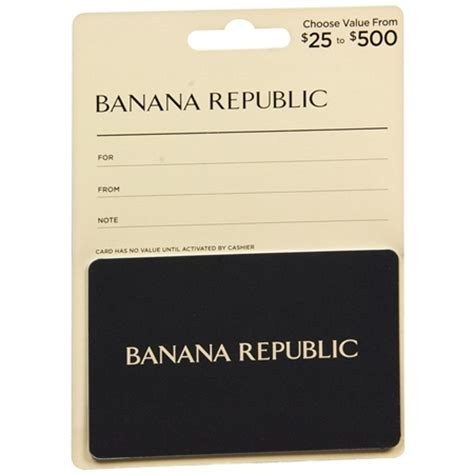 Gift Card Balance Banana Republic - banana republic non denominational gift card walgreens