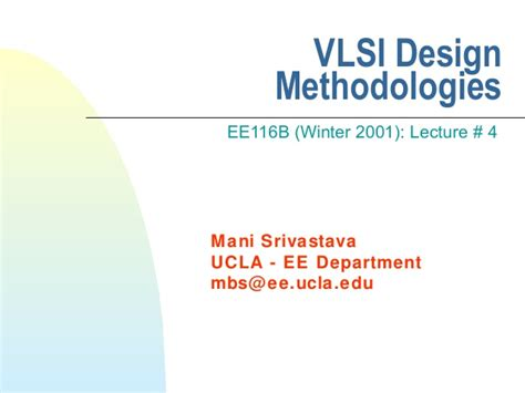 vlsi layout design ppt vlsi