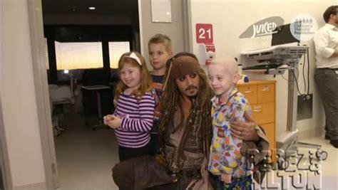 Johnny Depps Hospitalized by Cilento Children S Hospital News And Photos Perez