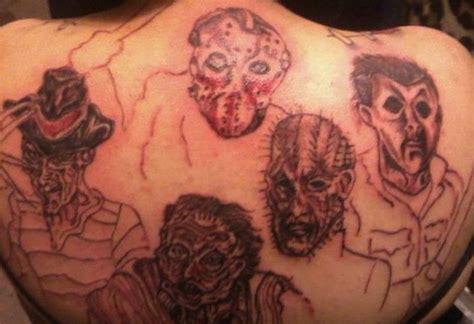 tattoo back monster 73 best horrible tattoos images on pinterest