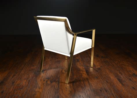 modern metal dining chair modern metal framed arm dining chair mecox gardens