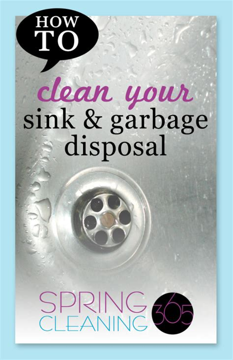 Clean Sink Disposal by Simple Tip To Get A Sparkling Clean Sink