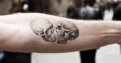 skull tattoo on hand tattoo collections