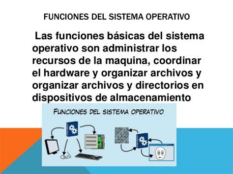 bloque 1 diferenciar funciones del sistema operativo diferenciar las funciones del sistema operativo 1mer parcial