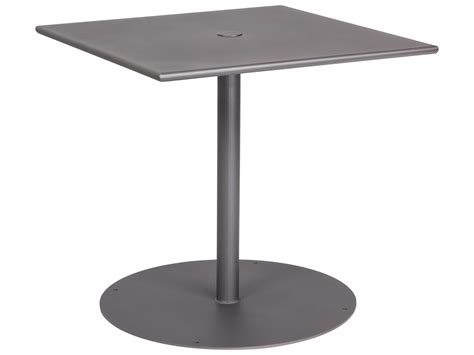 Iron Bistro Table Base Woodard Wrought Iron 30 Square Bistro Table With Pedestal Base 13l3sd30