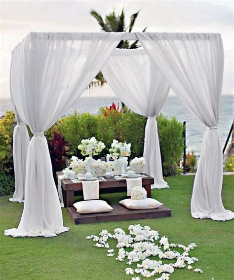 wedding awning 25 best ideas about outdoor wedding canopy on pinterest