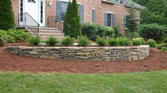 Front Yard Patios Retaining Wall Designs Ideas Landscaping Stone Retaining