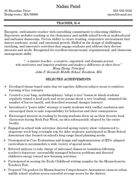 11 teacher resignation letter format parts of resume
