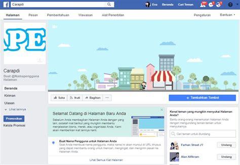 buat akun facebook indonesia cara daftar akun facebook bisnis carapedi indonesia