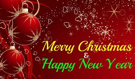 merry christmas and happy new year wishes quotes greetings